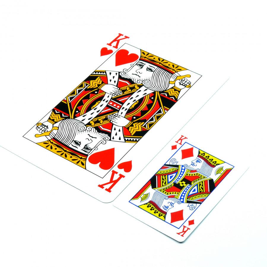 Đồ chơi ảo thuật: Bài tây khổng lồ (Jumbo)