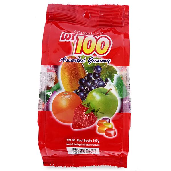 Kẹo Gôm Lot 100 Vị Hoa Quả (5783) (150g)