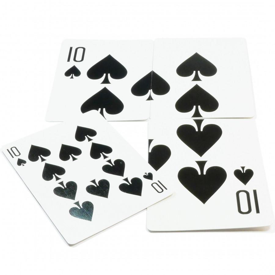 Đồ chơi ảo thuật: Bài 10 bích khổng lồ
