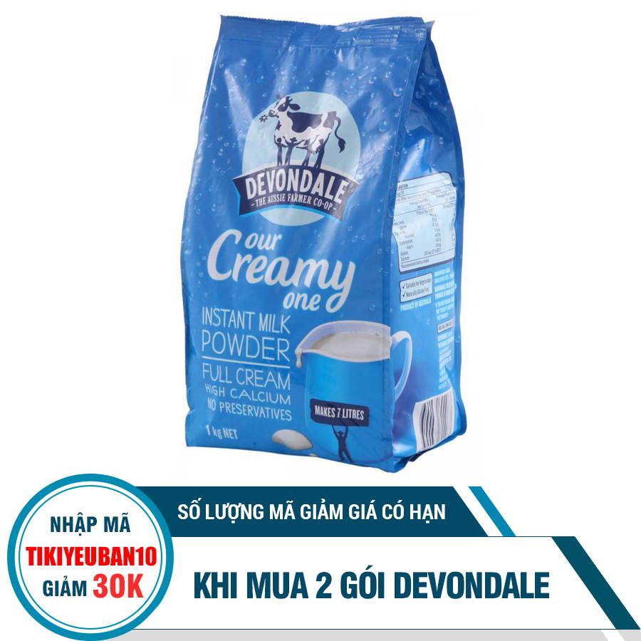 Sữa Bột Full Cream Devondale (Túi 1kg)