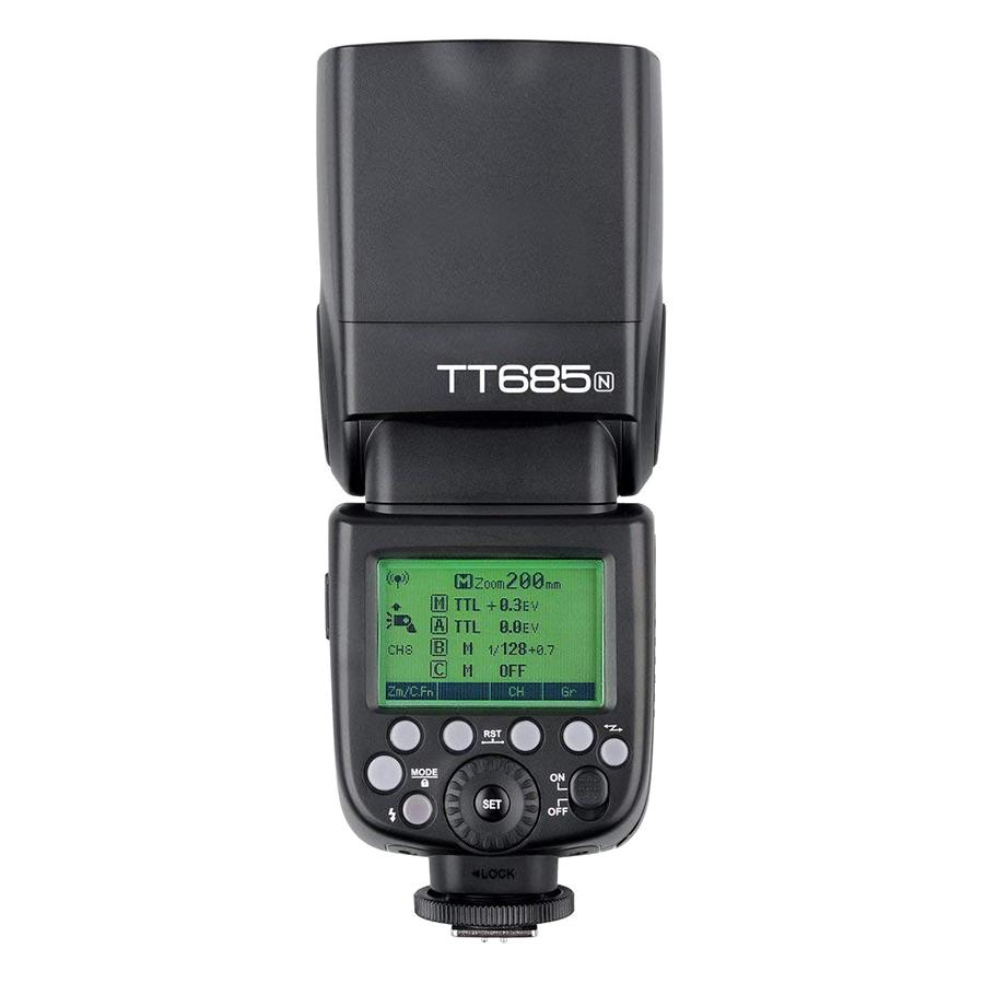 Đèn Flash Godox TT685N - GN60 - HSS - TTL Cho Nikon - Hàng Nhập Khẩu