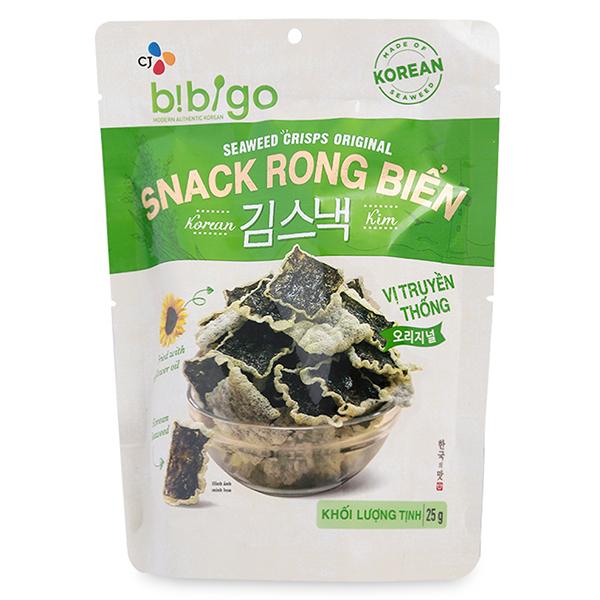 Snack Rong Biển Vị Kim Chi Bibigo (25g)