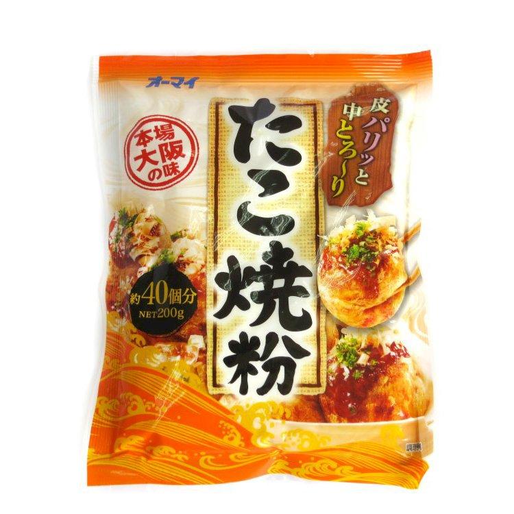 Bột làm bánh Takoyaki Nhật Bản -Khối lượng tịnh: 200g