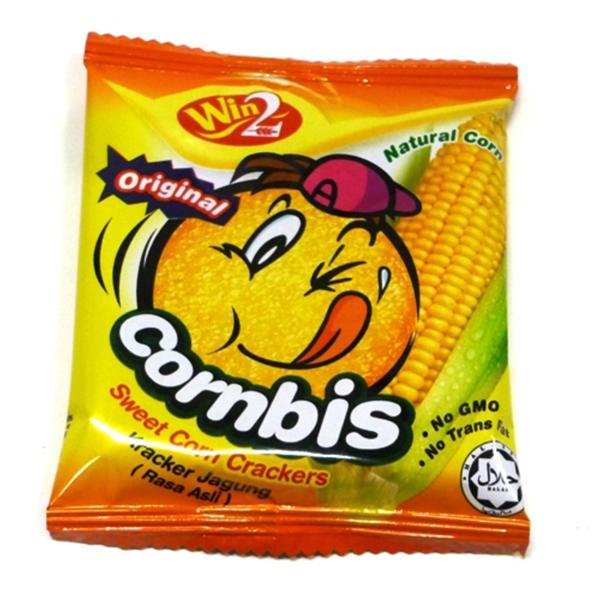 Bánh Bắp Cornbis Cracker Win2 (540g)