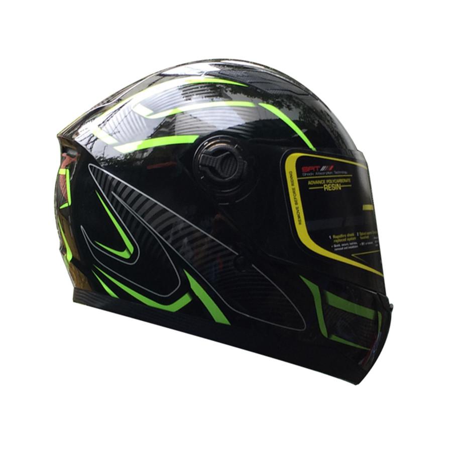 Mũ bảo hiểm Fullface Asia MT136 (Size XL) - Tem LZ2