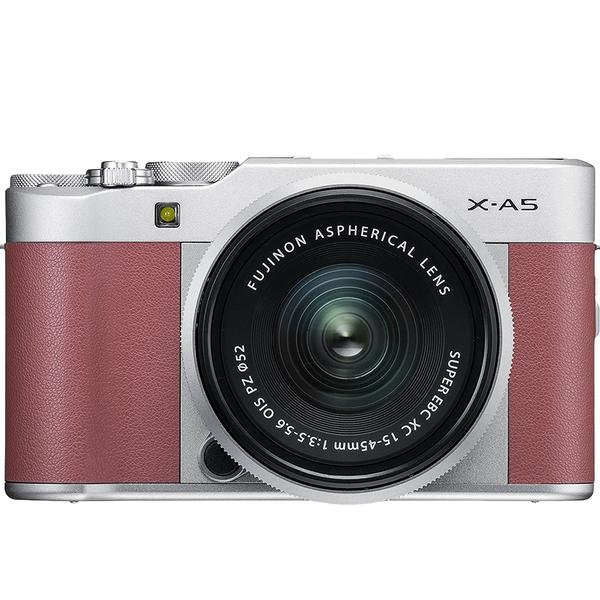 Máy Ảnh Fujifilm X-A5 Kit XC15-45mm f3.5-5.6 OIS (Hồng) + Thẻ Nhớ Sandisk 16GB Tốc Độ 48MB/s + Túi Đựng Máy Ảnh Fujifilm