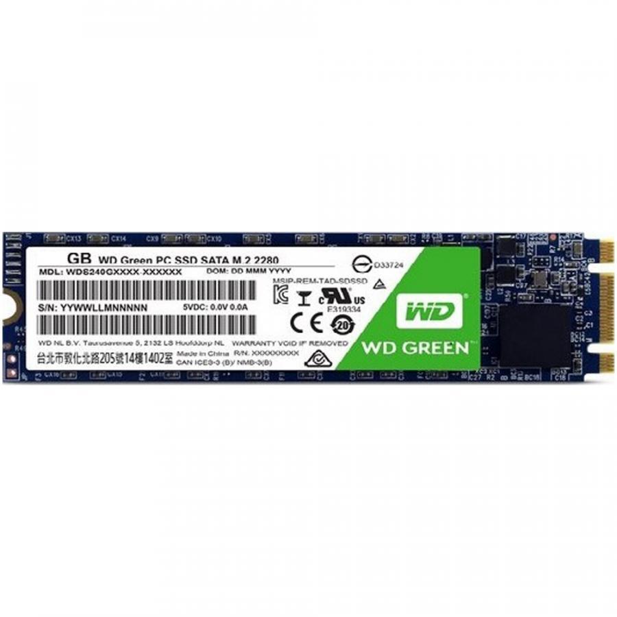 Ổ cứng SSD Western Digital Green M.2 2280 Sata III 240GB WDS240G2G0B - Hãng Chính Hãng
