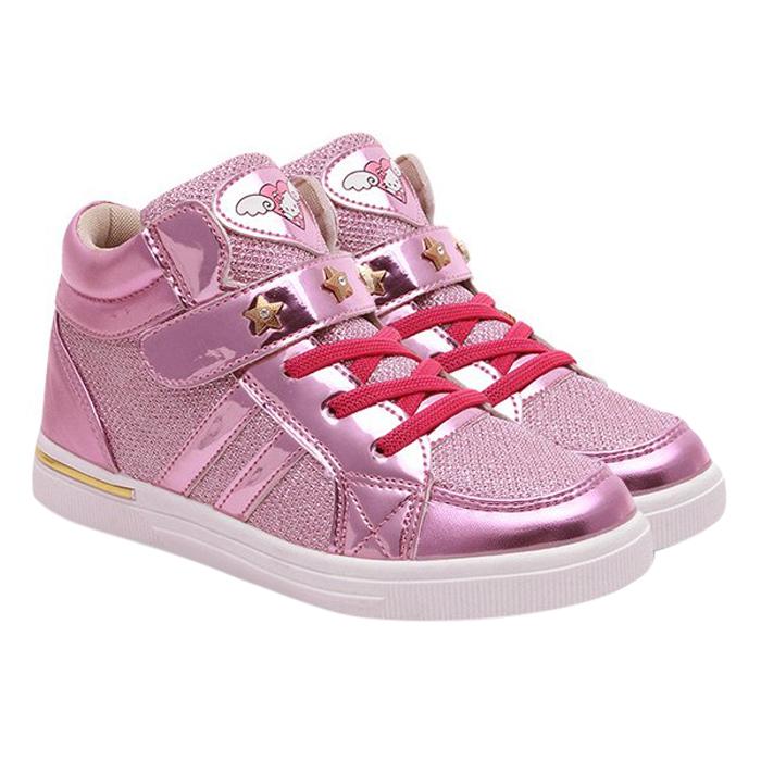 Giày Sneaker Bé Gái 3 - 12 Tuổi G49 - Hồng
