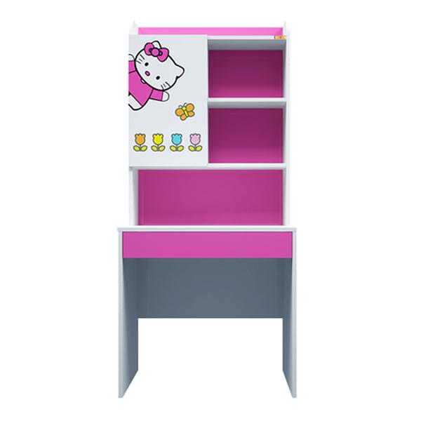 Bàn Học Có Giá Sách Hình Hello Kitty IBIE CTKITM08 (80cm)