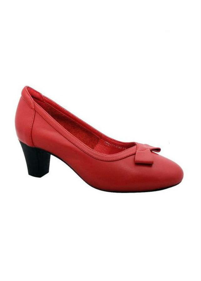 Giày Cao Gót Nữ Da Bò Elmi ESW71 - Đỏ (Size 39)
