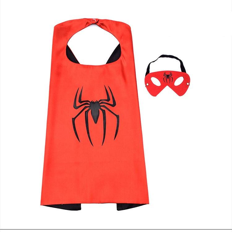 Combo choàng và mặt nạ người Nhện (Spiderman)