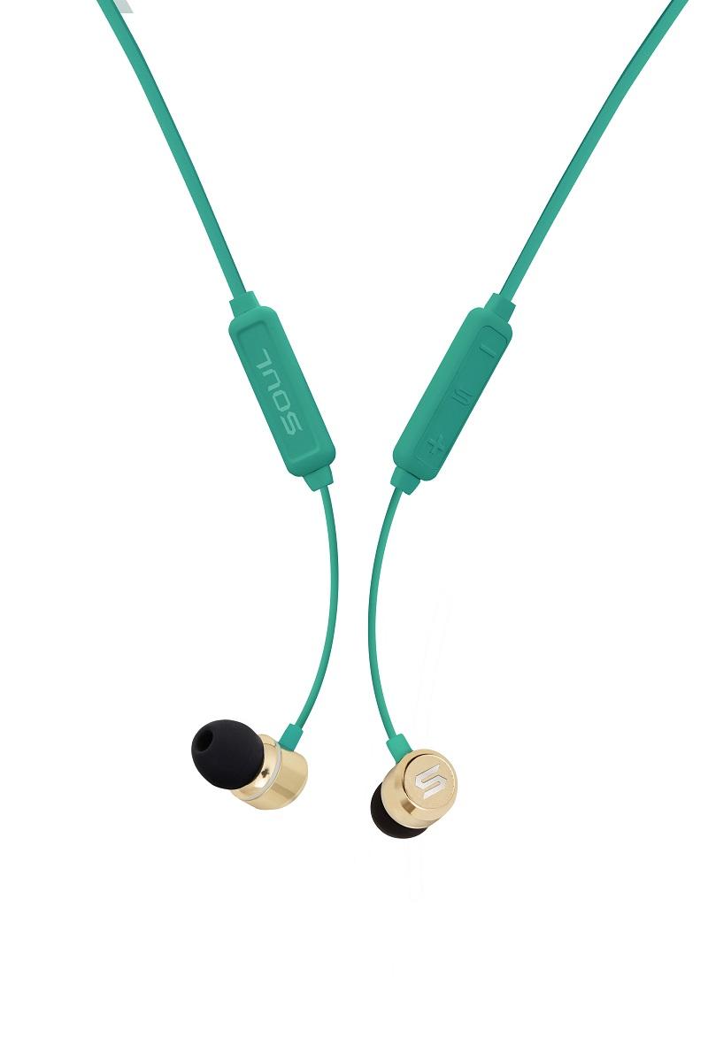 Tai Nghe Bluetooth Nhét Tai SOUL Prime Wireless (Xanh Lá) - Hàng Chính Hãng