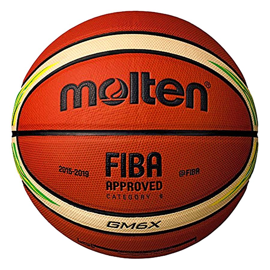 Bóng Rổ Molten BGM6X-YG - Phiên Bản Đặc Biệt Của FIBA