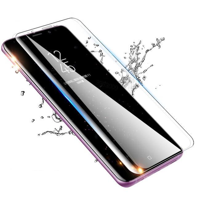 Miếng dán kính cường lực dành cho Samsung Galaxy S8 iSmile full màn hình vô cực 3D - hàng chính hãng