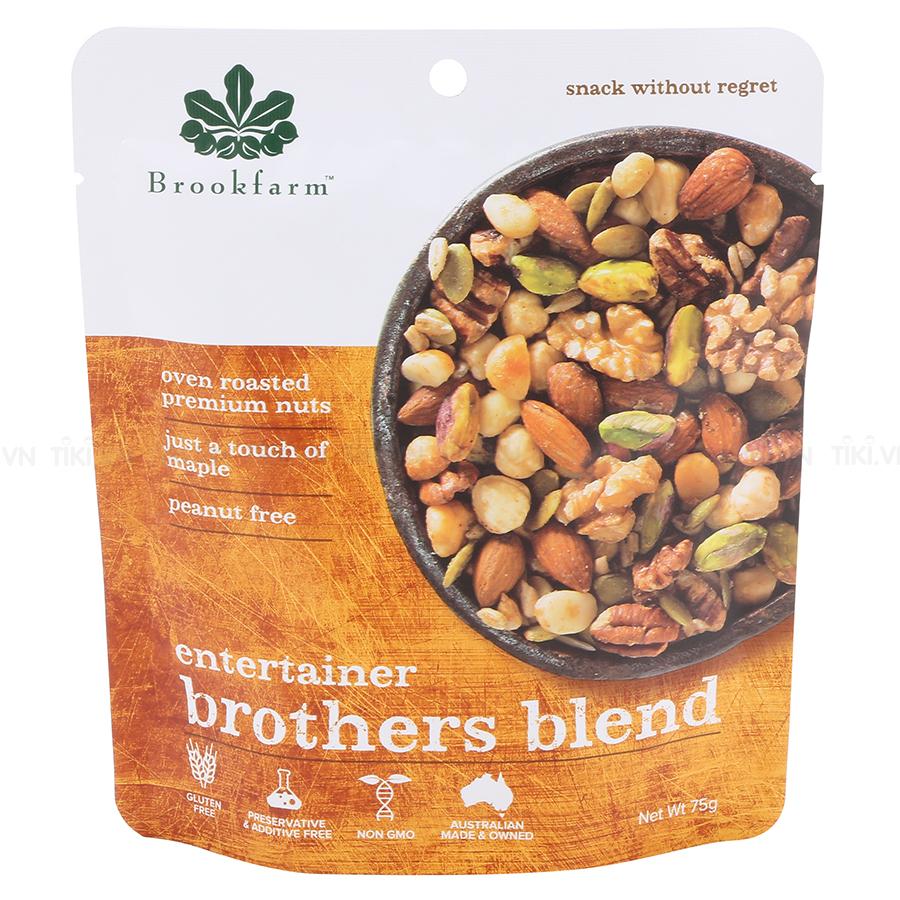 Hạt Hỗn Hợp Brookfarm Brothers Blend (75g)
