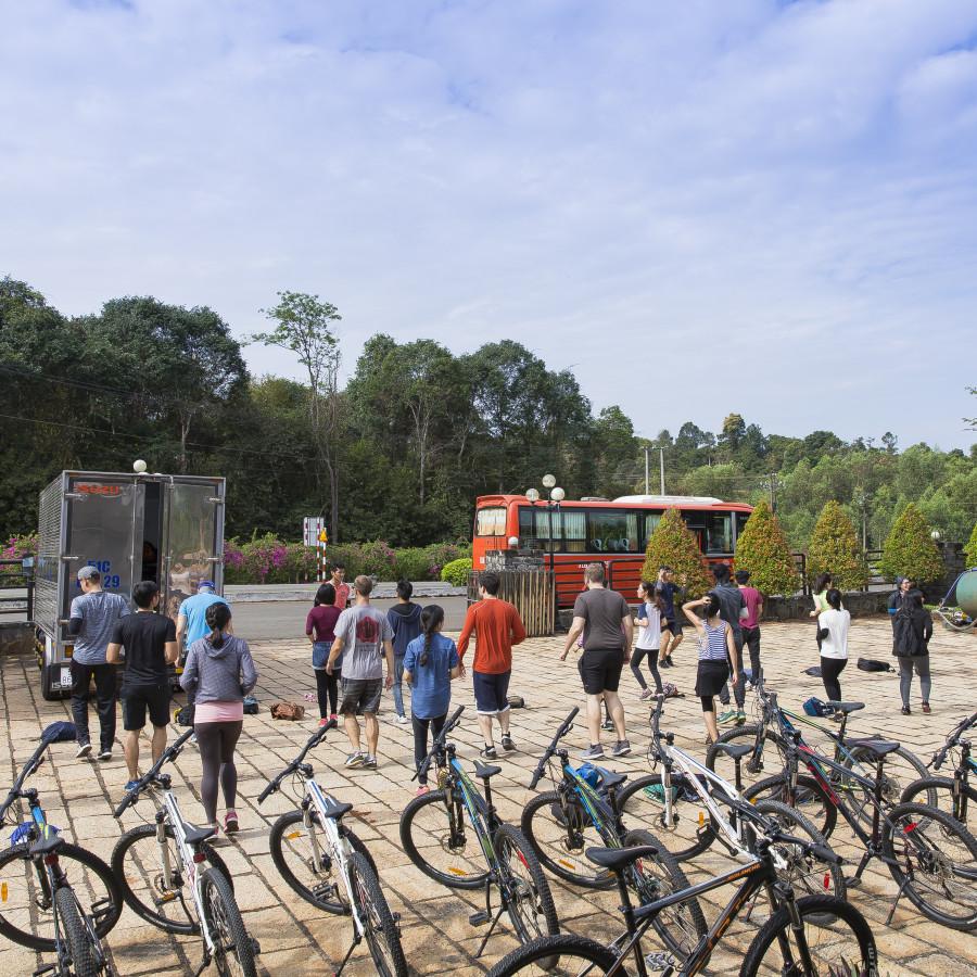 Tour đạp xe xuyên rừng Jungle Biking Challenge