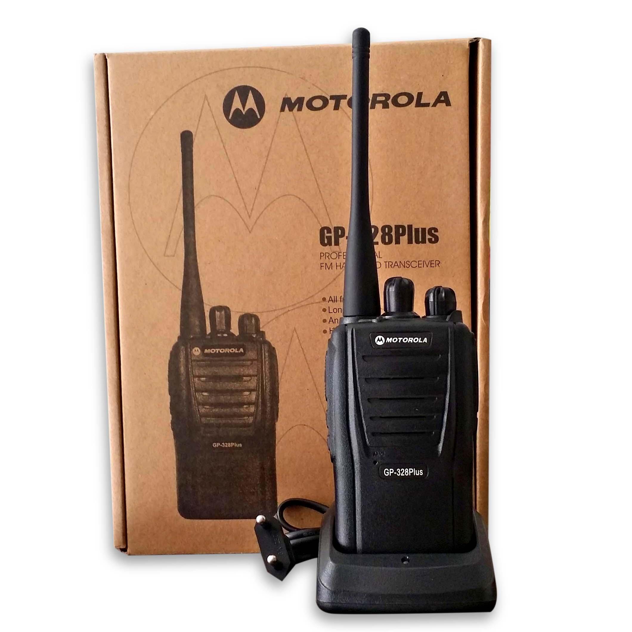 Bộ đàm Motorola GP 328 Plus (Đen)