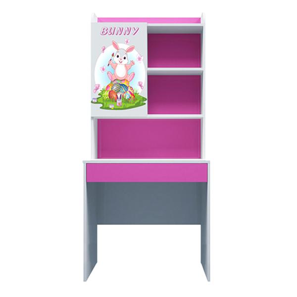 Bàn Học Có Giá Sách Hình Bunny IBIE CTBUNM08 (80cm)
