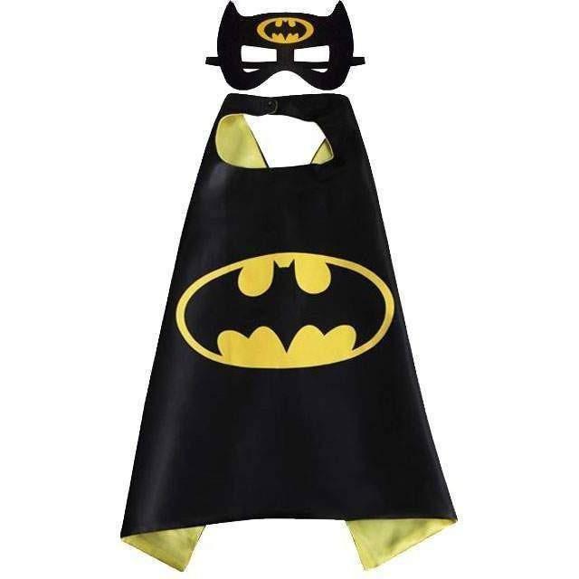 Áo choàng và nạ siêu anh hùng Batman