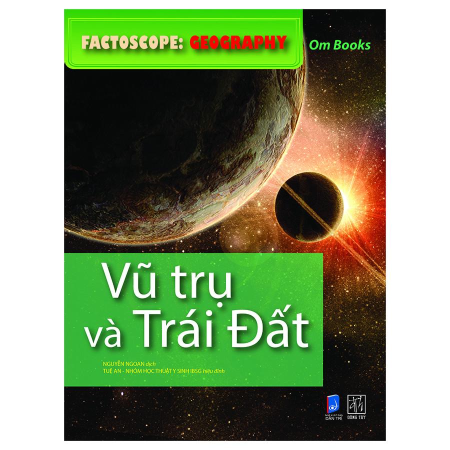 Factoscop: Geography - Vũ Trụ Và Trái Đất (Tranh Màu)