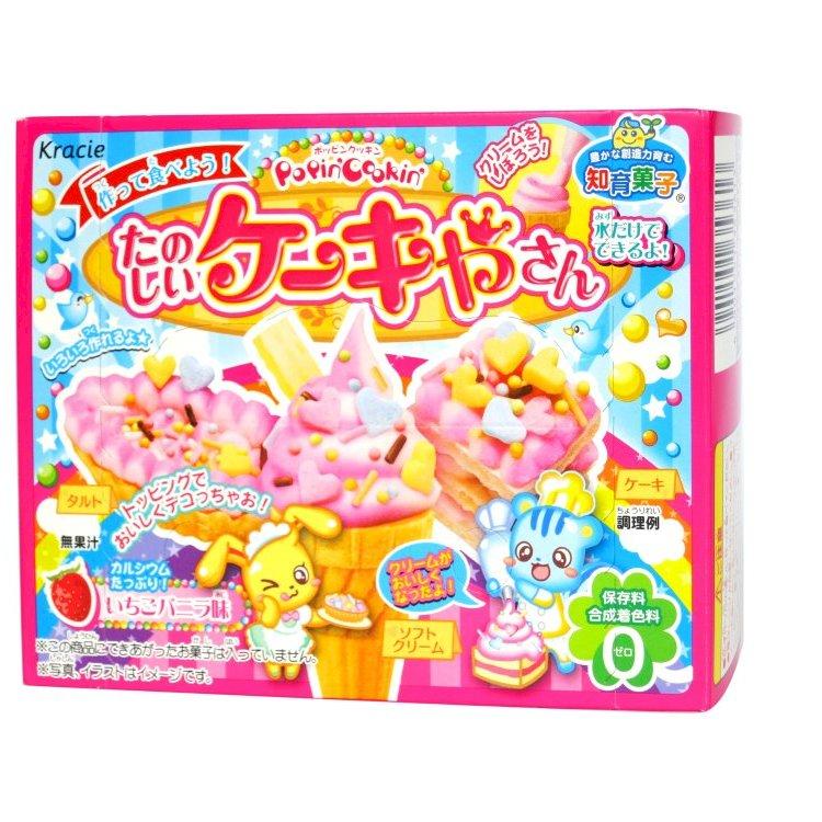 Kẹo Popin cookin làm kem Kracie ăn được 26g