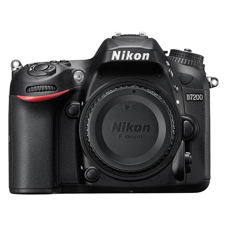 Máy Ảnh Nikon D7200 Body Đen (Hàng nhập khẩu) - Tặng thẻ 16GB - Tấm dán LCD