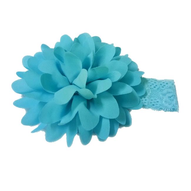 Băng đô hoa vải cho bé