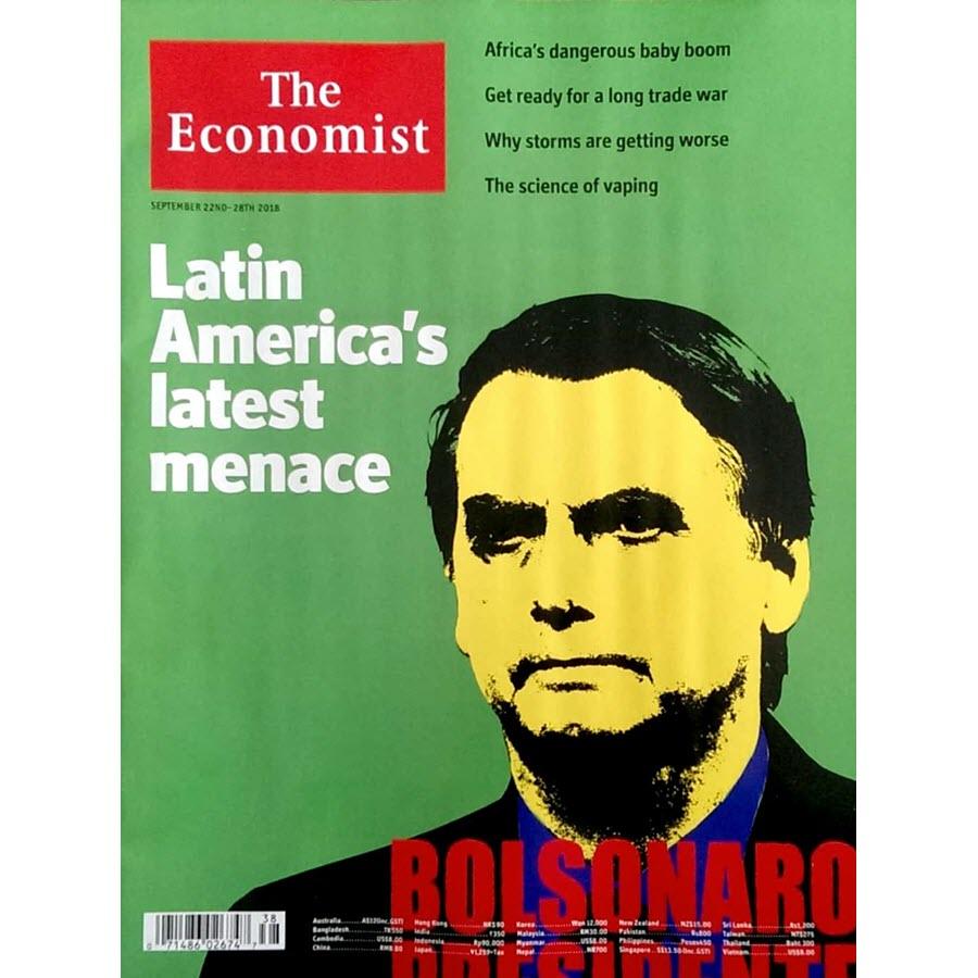 The Economist: Latin America's latest menace - 36