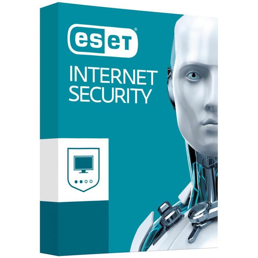 Phần mềm diệt virut Eset Internet Security - 1 User 1 Year