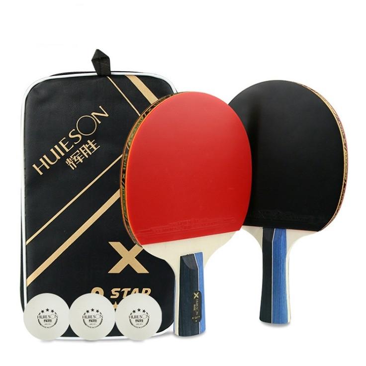 Bộ vợt bóng bàn cao cấp (Kèm bóng và túi đựng)