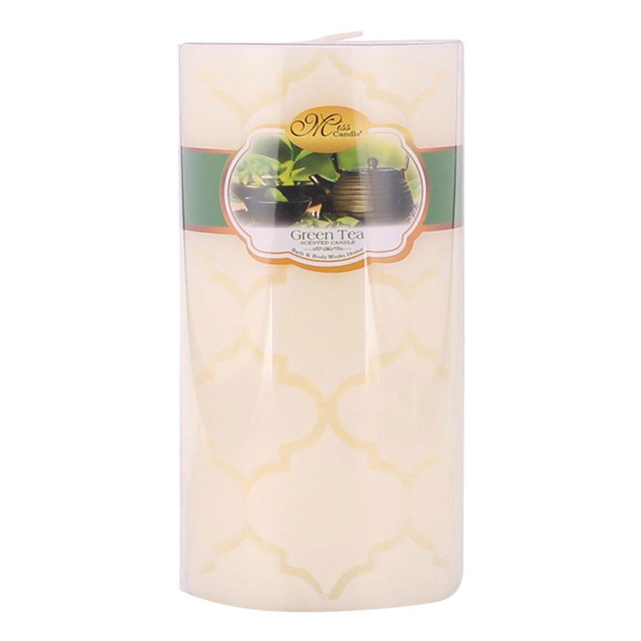 Nến Thơm Decor Quả Trám Hương Dâu Tây Strawberry Miss Candle Ftramart D7H15.QT (7 x 15 cm)