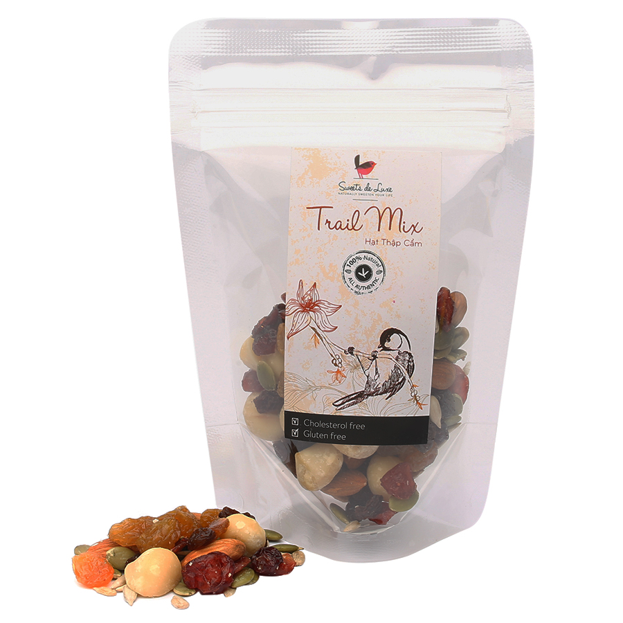 Hỗn Hợp Hạt  Trái Deluxe Monsieur Luxe (100g)