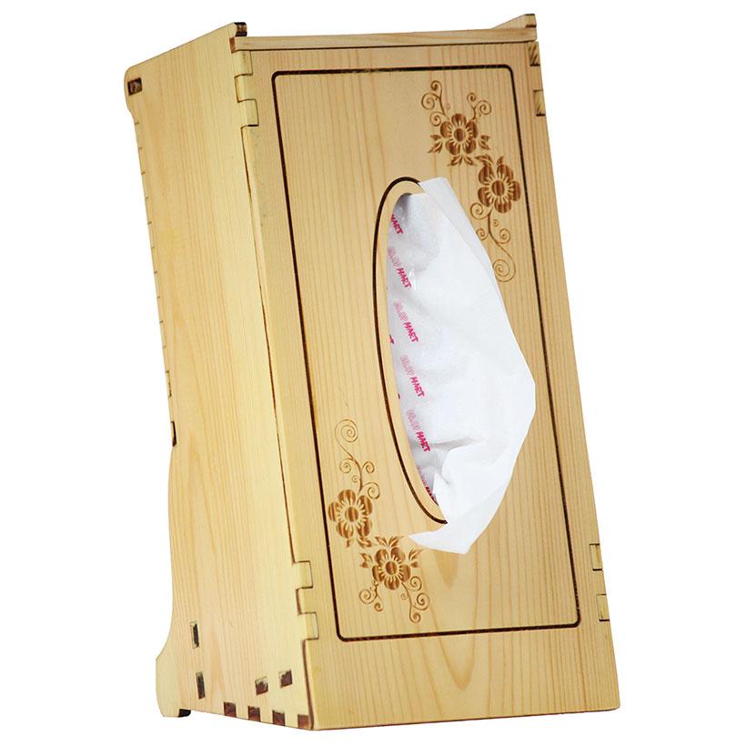 Hộp đựng khăn giấy Nhatvywood KG01 (gỗ thông)