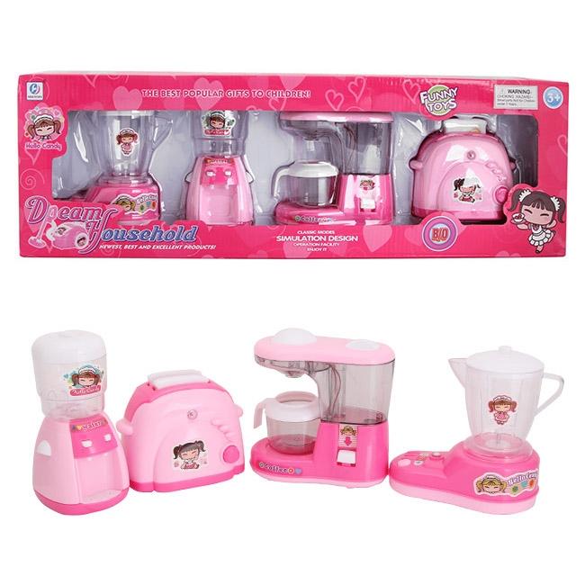 Bộ 4 món đồ chơi nhà bếp dễ thương cho bé