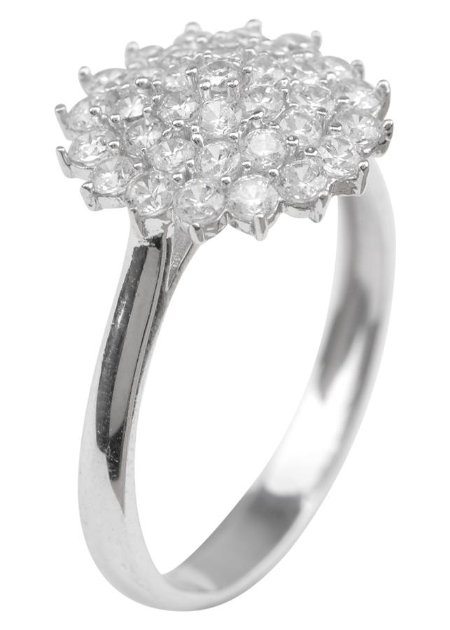 Nhẫn Nữ Hoa Tuyết Lớn Gix Jewelry GR012 - Trắng