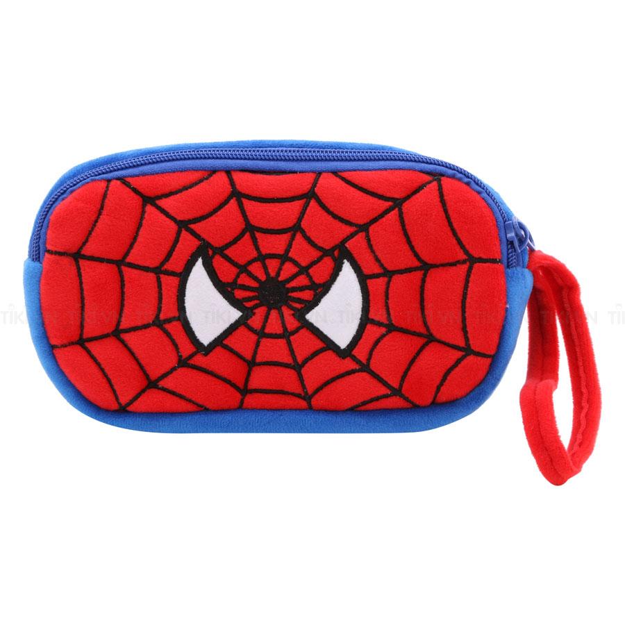 Bóp Viết Vải Bông Thanh Trà 4008-Spider Man