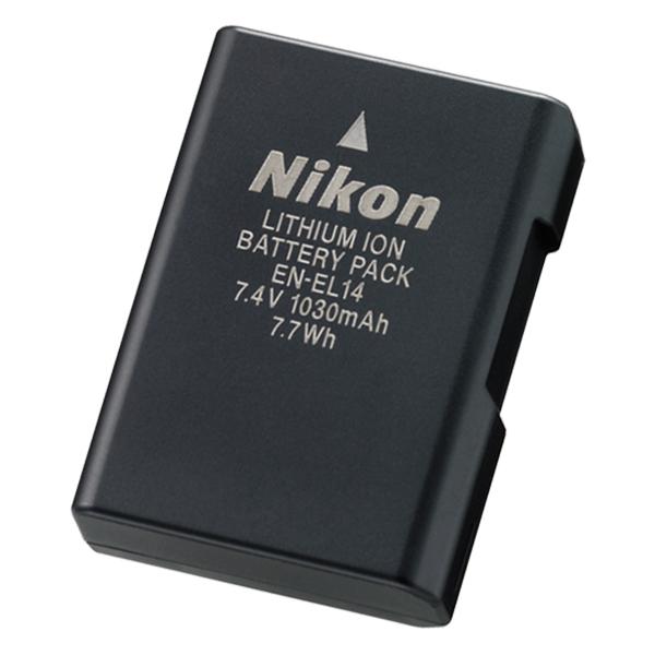 Pin Máy Ảnh Nikon EN-EL14 - Hàng Nhập Khẩu