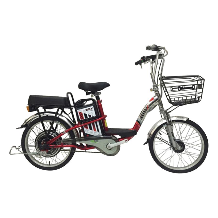 Xe Đạp Điện BMX Inox Màu 50% Vành 20 Inch