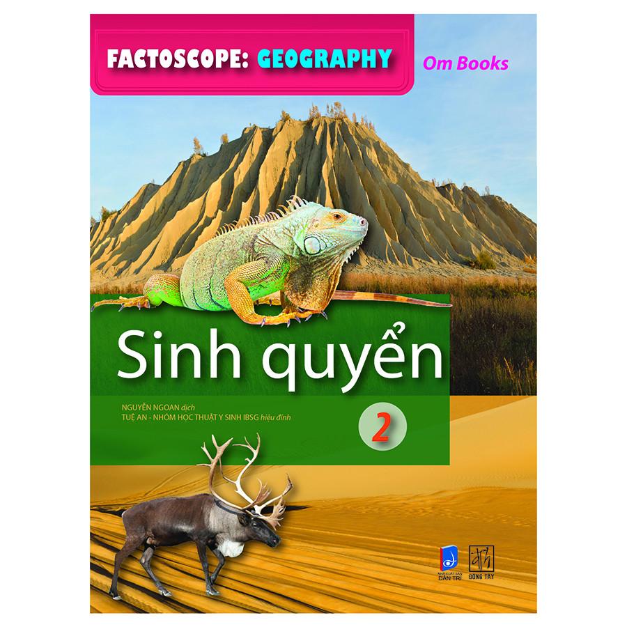 Factoscop: Geography - Sinh Quyển 2 (Tranh Màu)