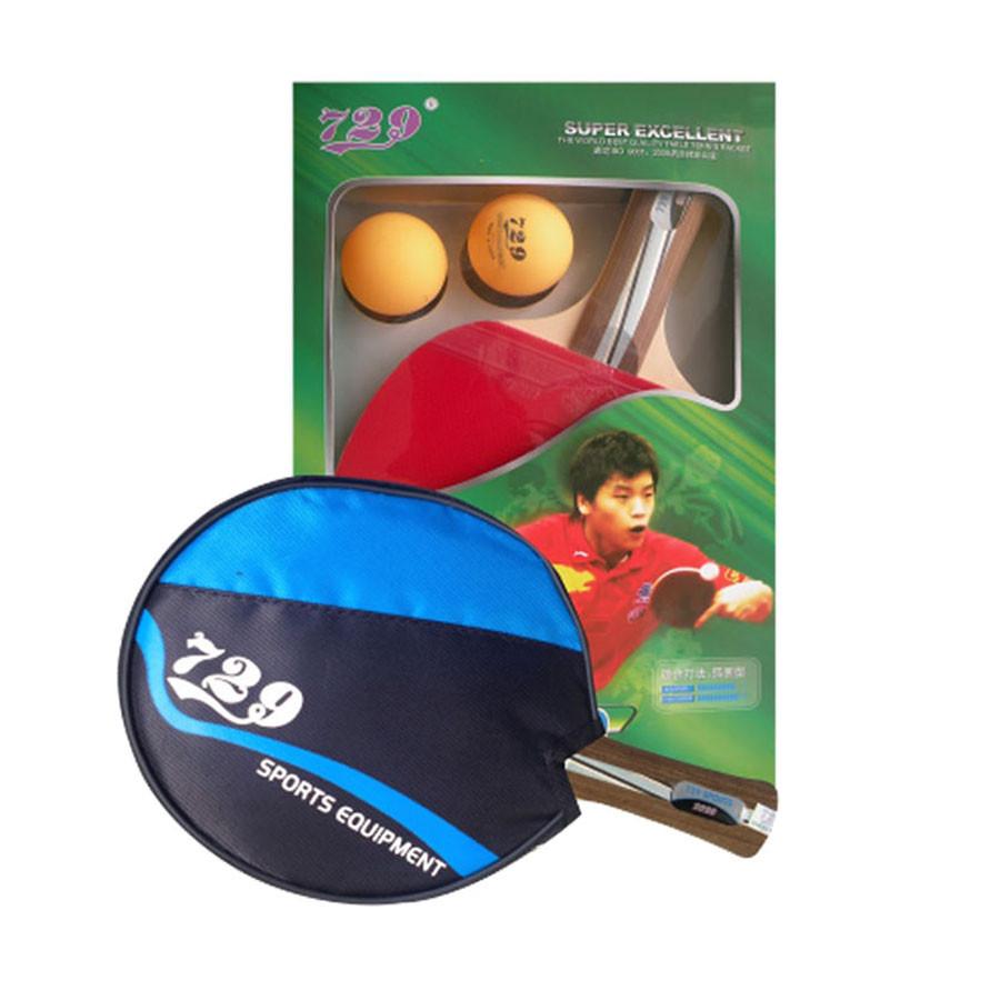 Vợt bóng bàn 729-2020 kèm 2 bóng và túi đựng