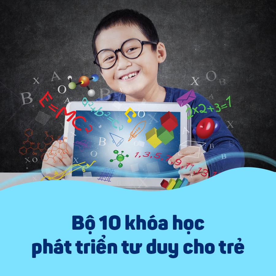 Bộ 10 Khóa Học Phát Triển Tư Duy Cho Trẻ KYNA KID04