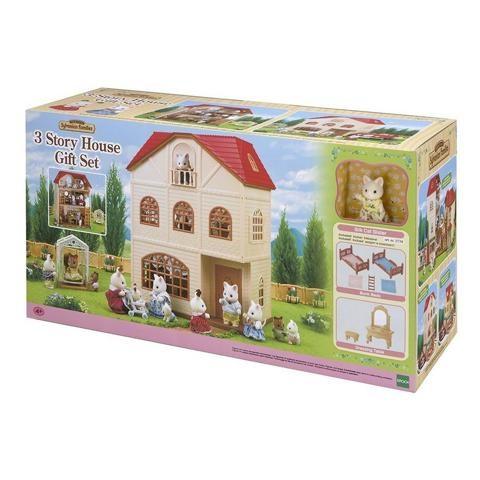 Sylvanian Families - Bộ Nhà Ba Tầng B (Gift Set) EP2738 Golden Kid
