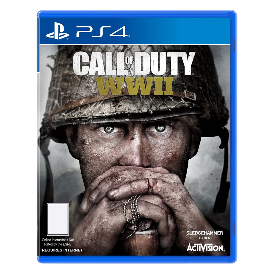 Đĩa Game PlayStation PS4 Sony Call Of Duty WWII Hệ Asia