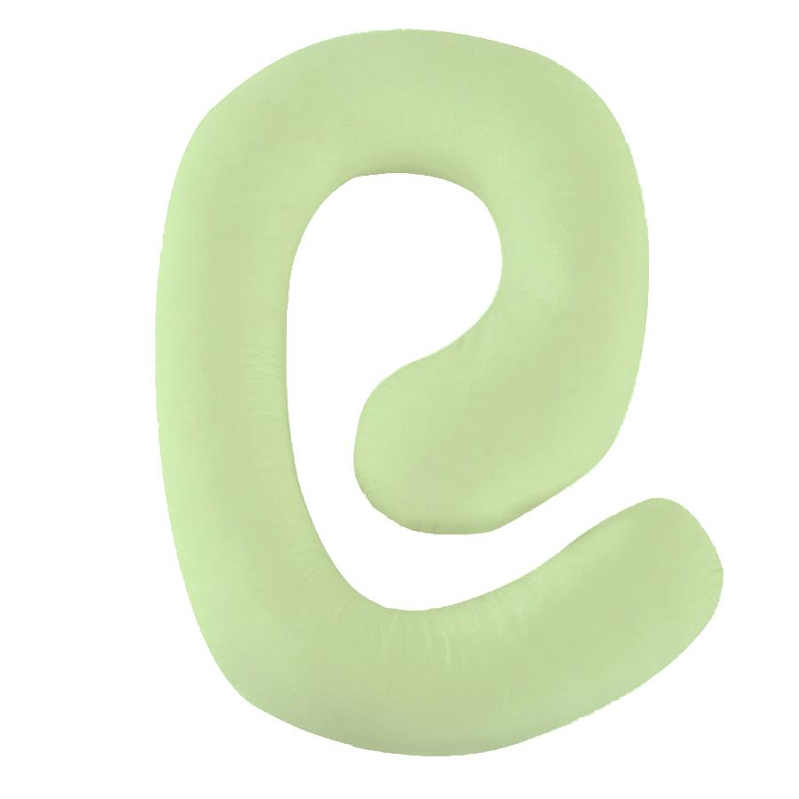 Gối ôm bà bầu ZCForest gối bà bầu chữ G gối màu xanh lá cây