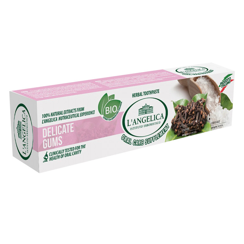Kem Đánh Răng L'Angelica Toothpaste - Delicate Gums - Ngăn ngừa viên nướu