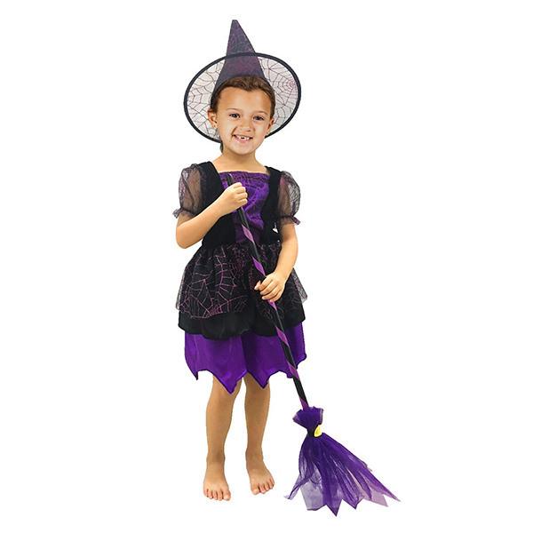 Bộ Đồ Hóa Trang  Phù Thủy Halloween Uncle Bills UH00776 - Tím