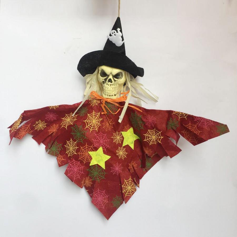 Mô hình phù thủy treo trang trí Halloween