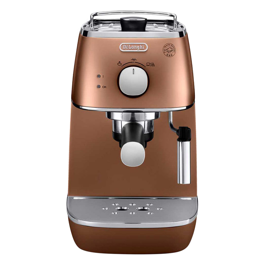 Máy Pha Cà Phê Espresso Distinta Delonghi ECI 341.CP (1100W) - Đồng