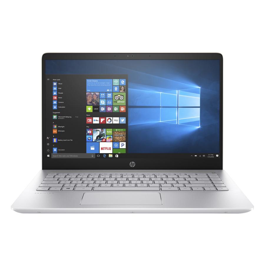 Laptop HP Pavillon 14-bf022TU 2JQ05PA Core i5-7200U/Win 10 (14 inch) - Gold - Hàng Chính Hãng