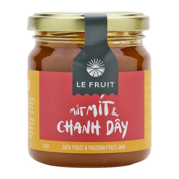 Mứt Mít Và Chanh Dây Le Fruit (225g)